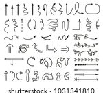 infographic elements on... | Shutterstock .eps vector #1031341810