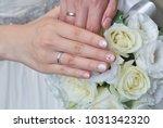 bridal image  splendid and... | Shutterstock . vector #1031342320