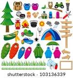 outdoor    Shutterstock .eps vector #103136339