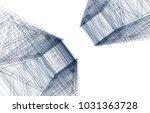 skyscraper architecture 3d... | Shutterstock . vector #1031363728