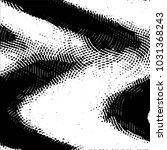 grunge halftone black and white ... | Shutterstock . vector #1031368243