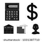 calculator  dollar sign  new... | Shutterstock .eps vector #1031387710