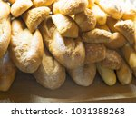 dozen and row of homemade style ...   Shutterstock . vector #1031388268