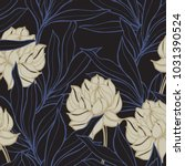 abstract elegance pattern with... | Shutterstock .eps vector #1031390524