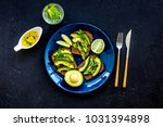 idea for a healthy and... | Shutterstock . vector #1031394898