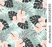 seamless vector pattern of... | Shutterstock .eps vector #1031418550
