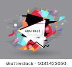 abstract geometric pattern... | Shutterstock .eps vector #1031423050