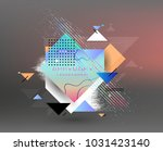 abstract geometric pattern... | Shutterstock .eps vector #1031423140