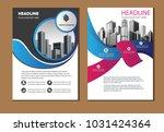design cover book brochure... | Shutterstock .eps vector #1031424364