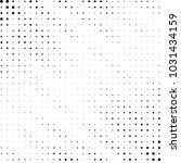 grunge halftone black and white ... | Shutterstock .eps vector #1031434159