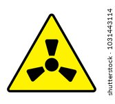 danger design flat icon | Shutterstock .eps vector #1031443114
