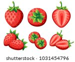Strawberry And Slices Of...
