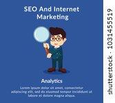 seo and internet marketing... | Shutterstock .eps vector #1031455519