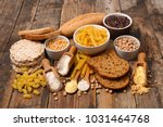 selection of food free gluten   Shutterstock . vector #1031464768