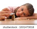 young brunette women collecting ...   Shutterstock . vector #1031473018