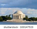 Thomas Jefferson Memorial In A...