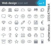 web design  seo and development ... | Shutterstock .eps vector #1031479864