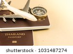 passports on the floor ... | Shutterstock . vector #1031487274