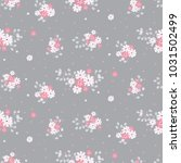 fashionable pattern in small... | Shutterstock . vector #1031502499