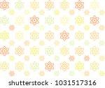 thai flower art seamless... | Shutterstock .eps vector #1031517316