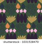ornamental seamless pattern... | Shutterstock .eps vector #1031528470