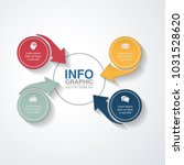 vector infographic template for ... | Shutterstock .eps vector #1031528620