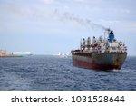 Cargo Ship At Sea. Cargo Ship...