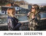 two beautiful two beautiful... | Shutterstock . vector #1031530798