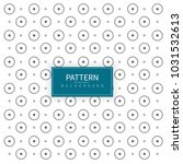 circle with dots pattern...   Shutterstock .eps vector #1031532613