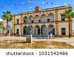 el cabildo square and town hall ... | Shutterstock . vector #1031542486