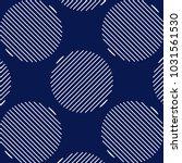 blue geometric seamless pattern | Shutterstock .eps vector #1031561530