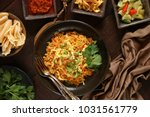nasi goreng jawa. the popular... | Shutterstock . vector #1031561779