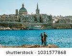malta valletta skyline europe ... | Shutterstock . vector #1031577868