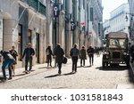 lisbon  portugal.  february 11  ... | Shutterstock . vector #1031581843