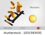 vietnamese dong money box with... | Shutterstock .eps vector #1031583430