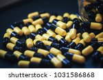 pills in capsules | Shutterstock . vector #1031586868