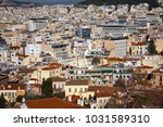 greece  athens view from plaka...   Shutterstock . vector #1031589310