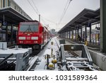 munich germany feb 19 2018  a... | Shutterstock . vector #1031589364