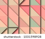 3d abstract low poly background | Shutterstock . vector #1031598928