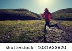 sports fitness woman trail... | Shutterstock . vector #1031633620