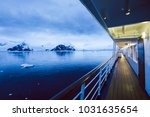 boat deck scenery at night | Shutterstock . vector #1031635654