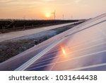 solar power equipment | Shutterstock . vector #1031644438