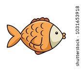 cute fish pet character | Shutterstock .eps vector #1031653918