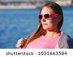 sport  workout fashion concept. ... | Shutterstock . vector #1031663584