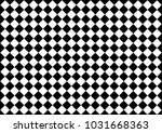 checked black and white... | Shutterstock .eps vector #1031668363