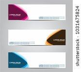 vector design banner... | Shutterstock .eps vector #1031675824