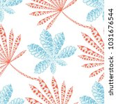 exotic seamless pattern with...   Shutterstock .eps vector #1031676544