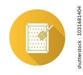 cat's litter box flat design... | Shutterstock . vector #1031681404