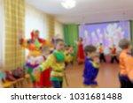 folk dances of children theme... | Shutterstock . vector #1031681488