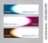 vector design banner... | Shutterstock .eps vector #1031685784
